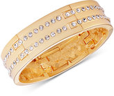 T Tahari Gold-Tone Pavé Stretch Bracelet