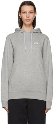 Nike Grey NSW Club Hoodie