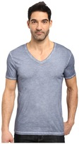 BOSS ORANGE Toulouse Fashion Fit Garment Dyed Jersey V-Neck Tee