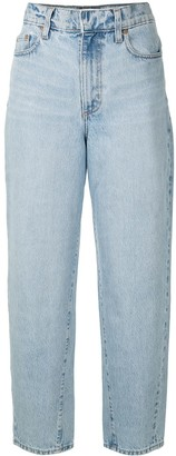 Nobody Denim high rise Porter relaxed jeans