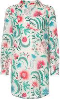 Rachel Zoe floral print shirt dress - women - Silk/Cotton - 4