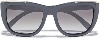 Chloé Dallia D-frame Acetate Sunglasses