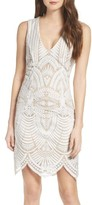 Bardot Women's Embroidered Mesh Dress