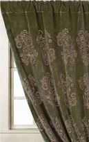 Feather Scroll Curtain