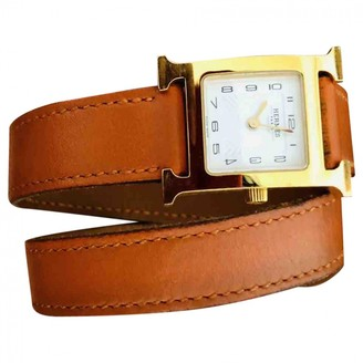 Hermã ̈S HermAs Heure H Gold Yellow gold Watches