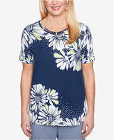 Alfred Dunner Perfect Match Floral-Print T-Shirt