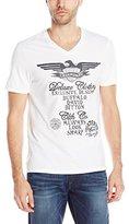 Buffalo David Bitton Men's Nadance V-Neck Fashion Tee Shirt