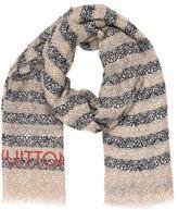 Louis Vuitton Cashmere & Silk Shawl