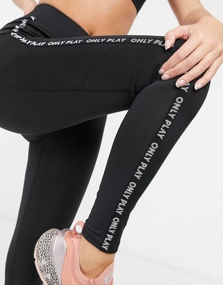 Only Play Nylah training tights in black