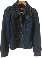 John Galliano Blue Cotton Jacket for Women