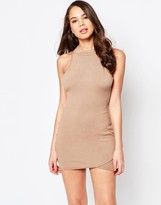 AX Paris Wrap Front Bodycon Dress