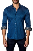 Jared Lang Solid Cotton Sportshirt