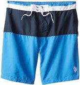 U.S. Polo Assn. Men's Color Block Swim Shorts