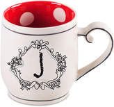 "Home Essentials Katie and Mandy Monogram ""J"" Mug"