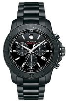 Movado Series 800 Chronograph Watch, Black