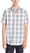 Robert Graham Men's Barstow Short Sleeve Button Down Shirt