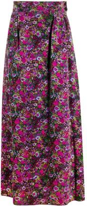 A.N.G.E.L.O. Vintage Cult 1970's Ken Scott floral long skirt
