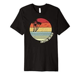 Destin Beach Florida Beach Vacation Souvenir Premium T-Shirt