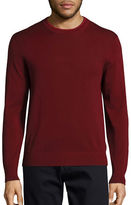 Ps By Paul Smith Tipped Crew Neck Sweater