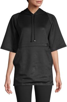 Koral Activewear Textured Hooded Tunic
