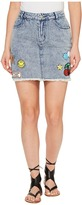 Brigitte Bailey Dromond Denim Skirt Women's Skirt