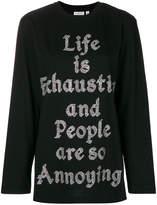 Ashish embellished sweatshirt