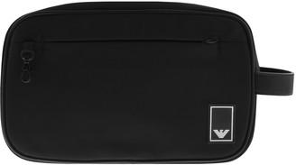 Giorgio Armani Emporio Wash Bag Black