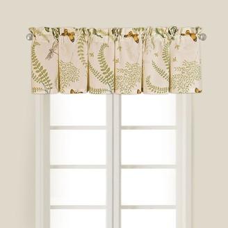 C&F Home Chelsea Cotton Window Curtain Valance Set 2 - 15.5 x 72