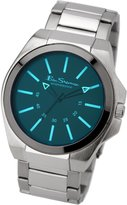 Ben Sherman Men's Quartz Watch with Dial Analogue Display and Silver Bracelet BS040