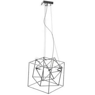 Cubo Radionic Hi Tech 6 - Light Unique / Statement Geometric Chandelier Radionic Hi Tech