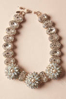 Anthropologie Opal Blossom Necklace