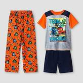 Lego Boys' ; Ninjago Pajama Set - Orange