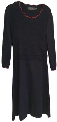 Corion Navy Viscose Dresses