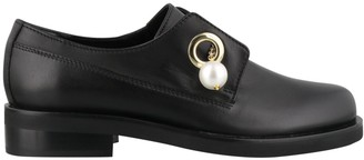 Coliac Vally Pearl Chain Loafers