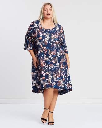 Layering High-Low Dress