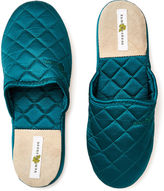 Kumi Kookoon Silk Slippers, Peacock