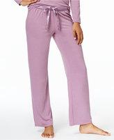 Alfani Satin-Trimmed Pajama Pants, Only at Macy's