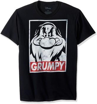 Disney Men's Snow White and Seven Dwarfs Grumpy Graphic T-Shirt
