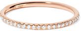 Ileana Makri Thread 18-karat Rose Gold Diamond Eternity Ring - 52