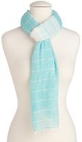 Made In Italy Jacquard Striped Wrap