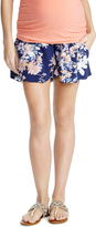 Motherhood Jessica Simpson Smock Waist Maternity Shorts