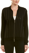Lafayette 148 New York Logan Wool & Silk Jacket