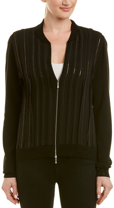 Lafayette 148 New York Logan Wool & Silk Jacket