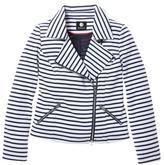 Jessica Women's Knit Moto Jacket