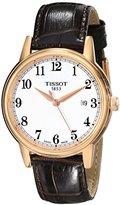 Tissot Men's T0854103601200 Analog Display Swiss Quartz Brown Watch