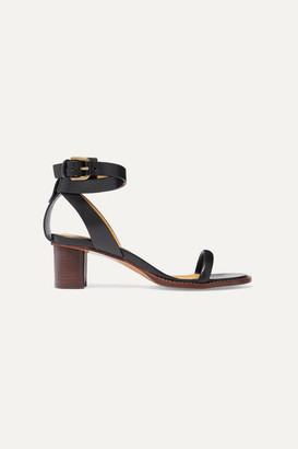 Isabel Marant Jadler Leather Sandals - Black