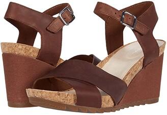 Clarks Flex Sun (Tan Leather) Women's Shoes