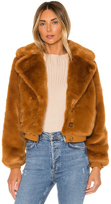 House Of Harlow X REVOLVE Kalida Faux Fur Jacket
