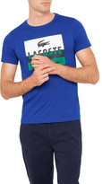 Lacoste Colour Block Logo Tee