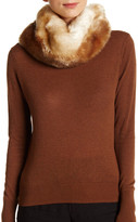 Dena Faux Fur Two Toned Twist Collar